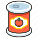 1f96b, canned, food icon