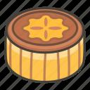 moon cake icon