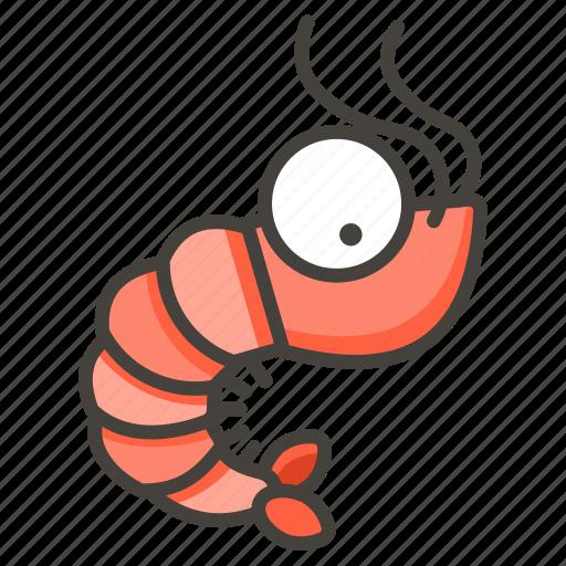 1f990, shrimp icon