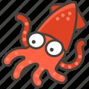 1f991, squid icon
