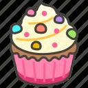 1f9c1, cupcake