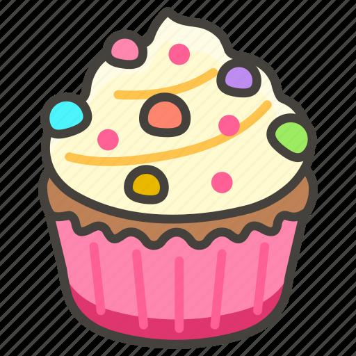 1f9c1, cupcake icon - Download on Iconfinder on Iconfinder