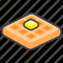 1f9c7, waffle icon