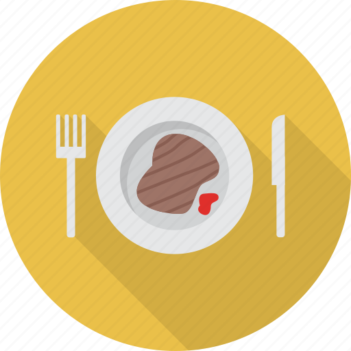 beef, fast, food, meat, steak icon