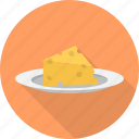 cheese, fast, food, kitchen, restaurant icon