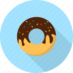 dessert, donut, food, sweet icon
