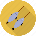 fish, fishing, food, sea icon