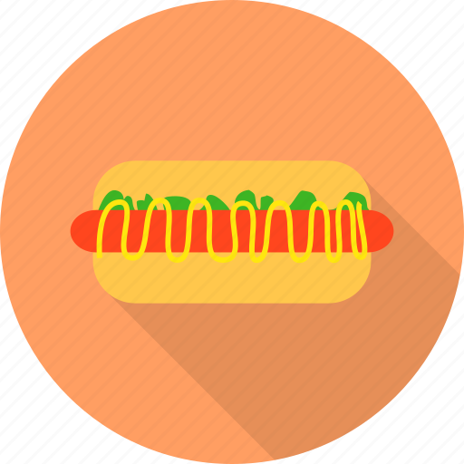 fast, food, hotdog, sausage icon