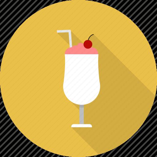 cocktail, coffee, drink, milkshake, shake icon