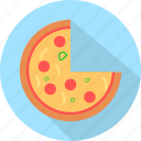 fast, food, italian, pizza, slice icon