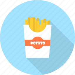 food, french, fries, potato, vegetable icon