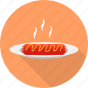 bakery, bread, breakfast, food, slice, toast icon