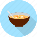 bowl, cooking, food, hot, soup icon