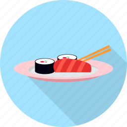fish, food, japanese, seafood, sushi icon