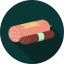 breakfast, fast, food, junk, meal, sausages icon