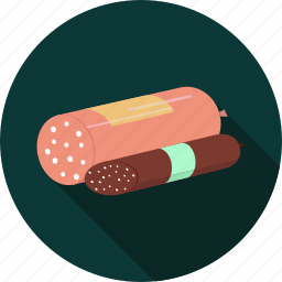 breakfast, food, junk, sausages icon