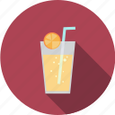 drink, glass, juice, lemonade icon