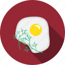 breakfast, egg, meal, omelet icon