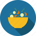 cucumber, food, healthy, salad, tomato, vegetable, vegetables icon