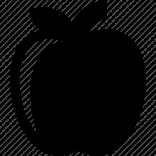 apple, bio, food, fruit, organic icon