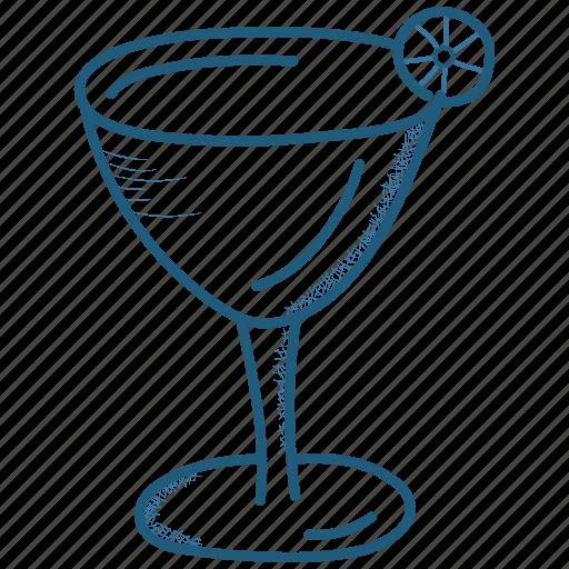 bistro, drink, food, martini, restaurant icon