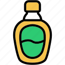bottle, chocolate, cream, dessert, syrup icon
