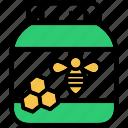 food, honey, jar, pot, sweet icon