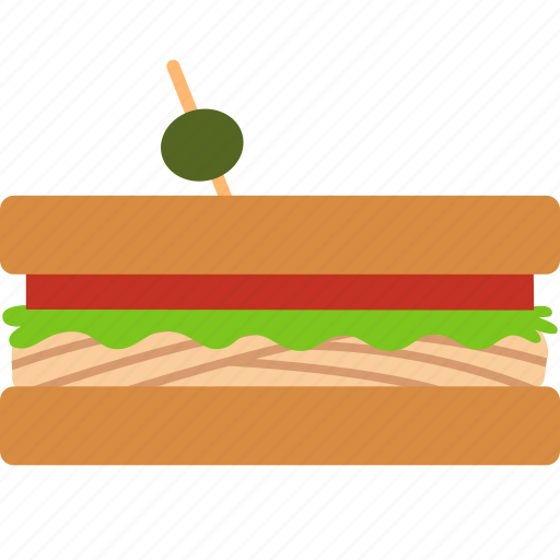 Blt, deli, hero, picnic, sandwhich, sandwich, catering icon - Download on Iconfinder
