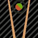 food, sushi, japanese, chopstick, makizushi, chopsticks, roll