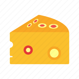 bake, breakfast, cheddar, cheese, italian, mozzarella, swiss icon