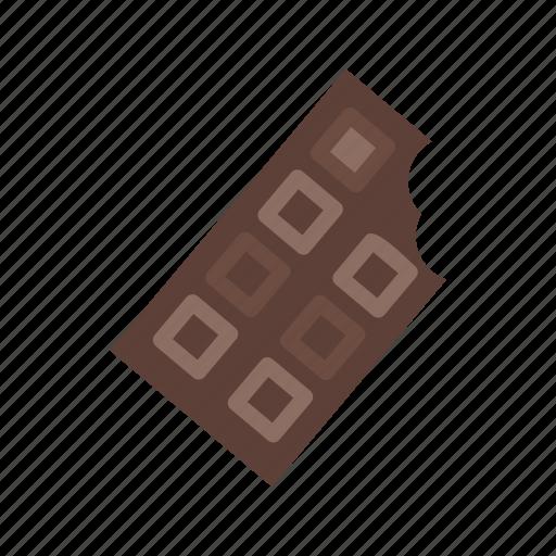 bar, chocolate, dessert, food, snack, sugar, sweet icon