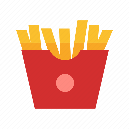 burger, chips, fish n chips, french fries, fries, potato fries, snack icon