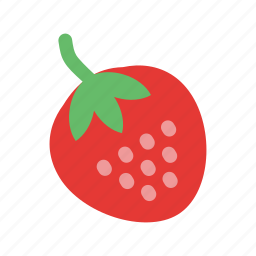 berry, dessert, fresh, fruit, healthy, strawberry, sweet icon