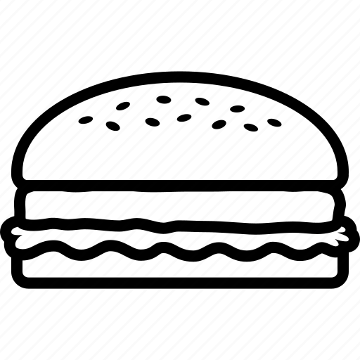 Burger, fast, fastfood, food, hamburger, lunch, sandwich icon - Download on Iconfinder
