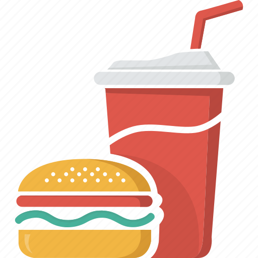 drink food fast hamburger coke icon glass soft junk coca icons drinks transparent fastfood 512px category backgrounds