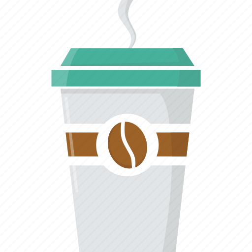 café, coffee, cup, drink, glass, hot drink, takeaway, takeaway coffee icon