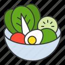 cuisine, food, healthy, menu, restaurant, salad, vegetable