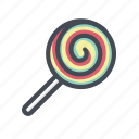 candy, chocolate, confectionery, lollipop, sugar, sweet, sweets icon