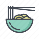 cooking, eat, food, mie, noodle, ramen icon