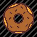 donut, sugar, meses