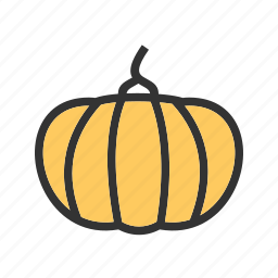 color, food, halloween, oil, pumpkin, pumpkins, vegetable icon
