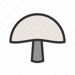 food, healthy, mushroom, mushrooms, organic, oyster icon
