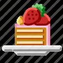 cake, dessert, food, pastry, sweet