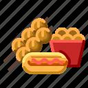 car, food, street, truck, van