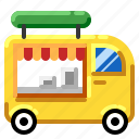 food, transportation, truck, vehicle