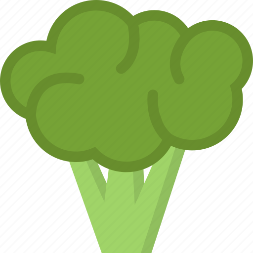 broccoli, cooking, food, product, shop, supermarket, vegetable icon