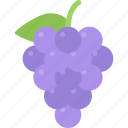 cooking, food, fruit, grapes, product, shop, supermarket icon
