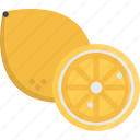 cooking, food, fruit, lemon, product, shop, supermarket icon