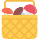 cooking, food, mushrooms, product, shop, supermarket icon