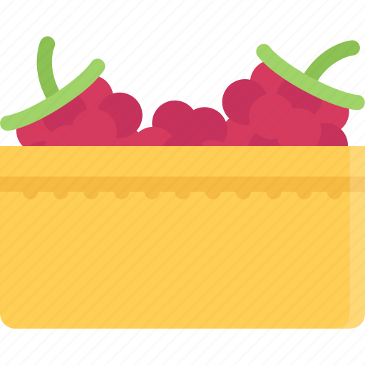 cooking, food, fruit, product, raspberries, shop, supermarket icon